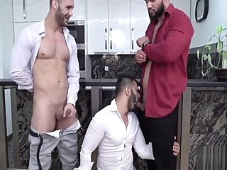 amateur gay threesome