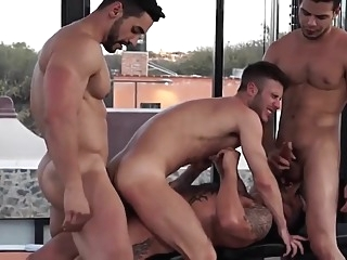 gay group sex interracial