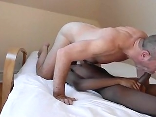 black interracial hunk