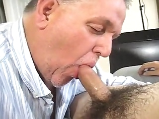 blowjob daddy twink