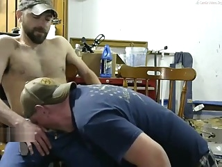bear blowjob daddy